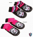 Monster high  papucs fekete( 27/30,31/34,35/38)