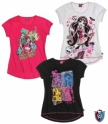 Monster high pink póló (152)